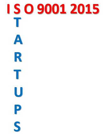 ISO 9001 STARTUPS