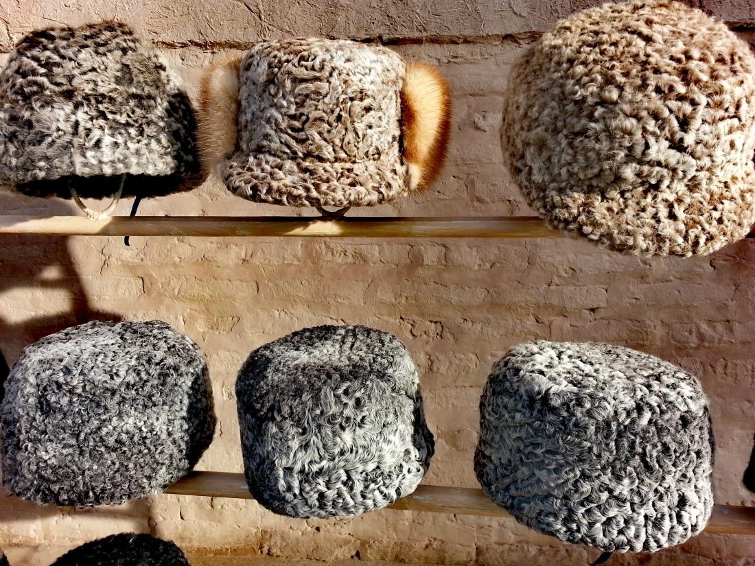 I colbacchi di lana karakul