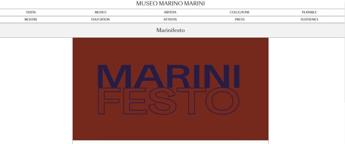 Marinifesto