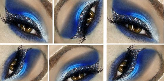 glitter eyes 1